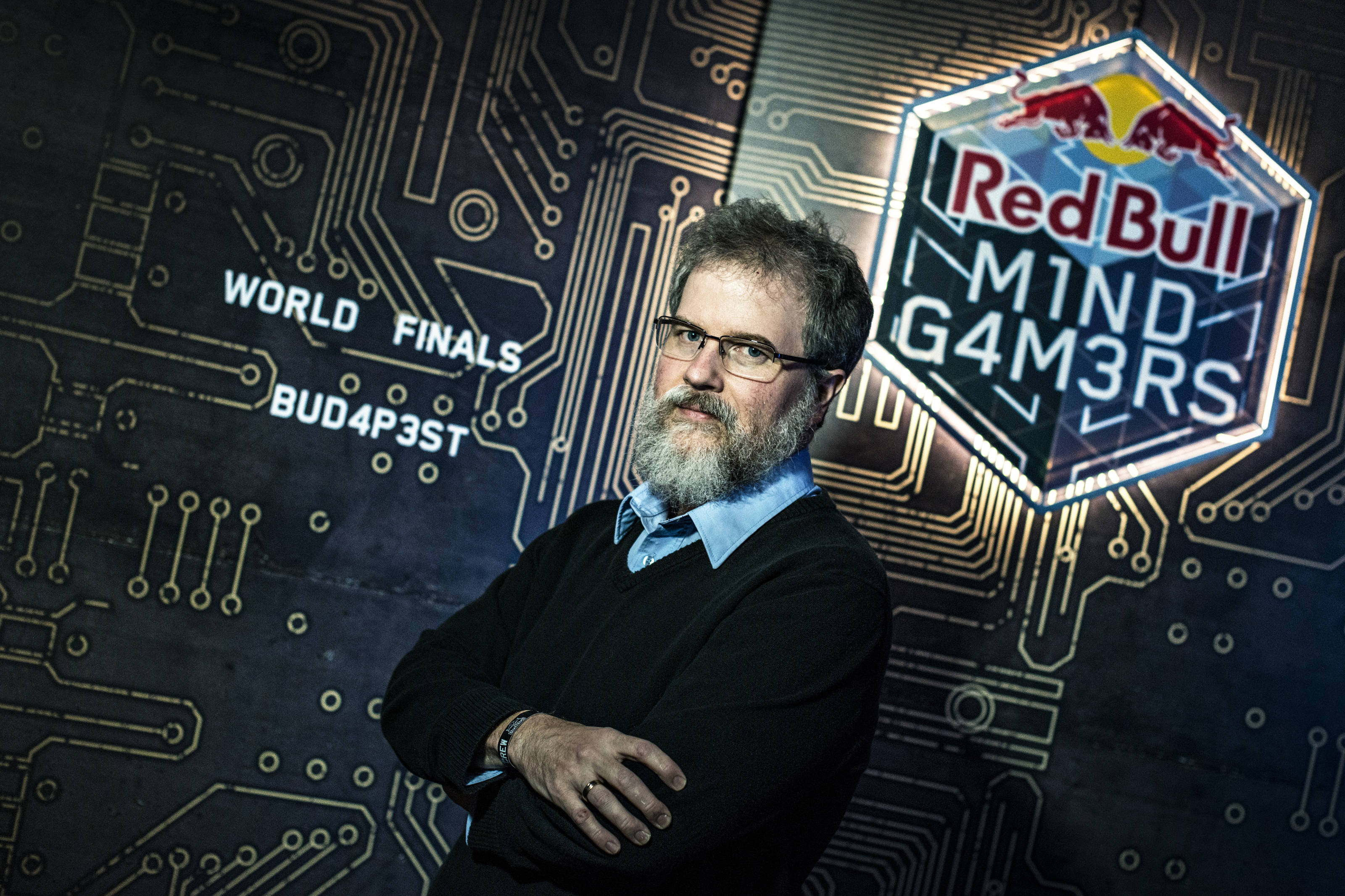 Dr. Scott Nicholson - Red Bull Escape Room World Championship 2017