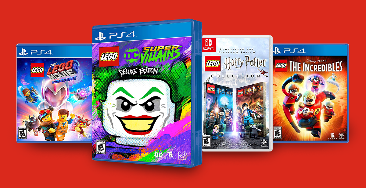 Save up to $20 on select lego games