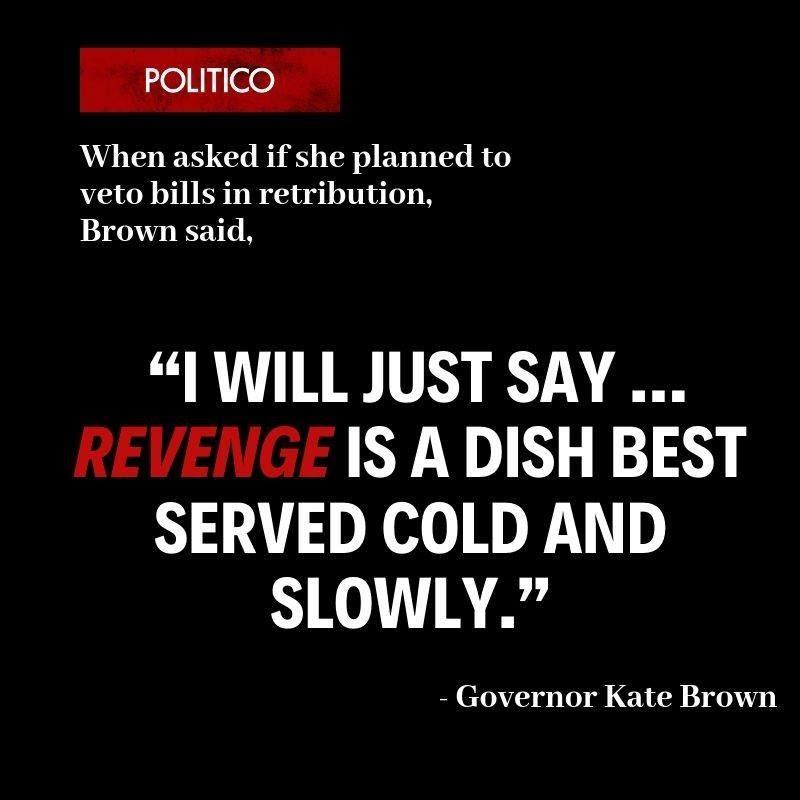 Governor Brown Revenge Quote