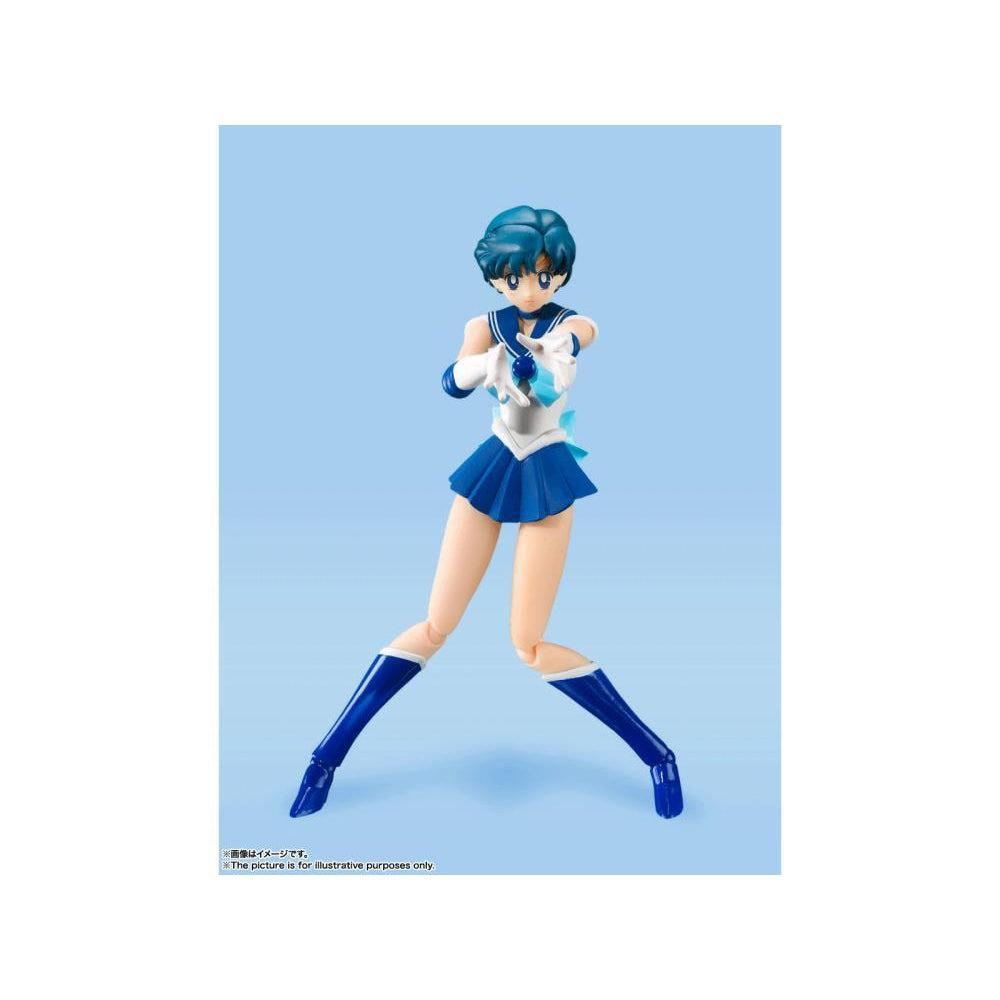 Image of Pretty Guardian Sailor Moon Sailor Mercury Animation Color Edition SH Figuarts Action Figure - NOVEMBER 2020