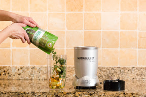 NutriBullet and smoothie