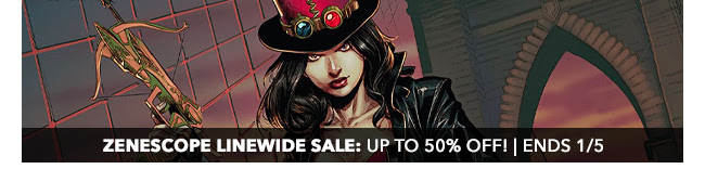 Zenescope Linewide Sale: up to 50% off! | Ends 1/5