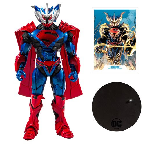 "Image of DC Armored 7"" Action Figure Wave 1 - Unchained Armor Superman"
