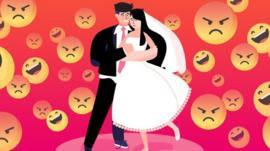 Os tóxicos fóruns online criados para ridicularizar festas de casamento