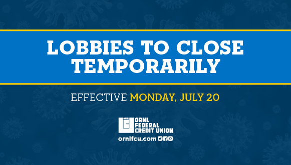 lobbies closing temporarily