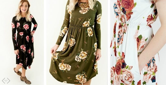 Fall Floral Dresses + More! ??