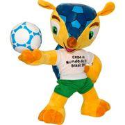 Pelúcia Fuleco 30cm Copa do Mundo da FIFA 2014 - BBR