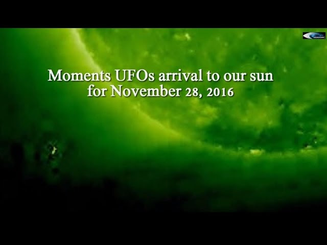 UFO News ~ Huge Solar UFO Exits The Sun and MORE Sddefault