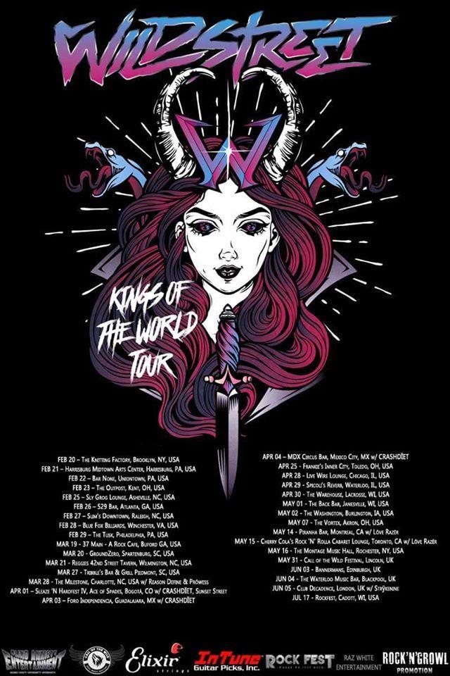 wildstreet tour