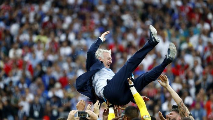RECIT. De la finale perdue de l'Euro 2016 au triomphe du 15 juillet: la longue route des Bleus vers le titre mondial