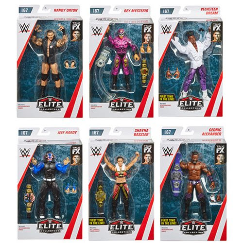 Image of WWE Wrestling Elite Collection Series 67 - Set of 6