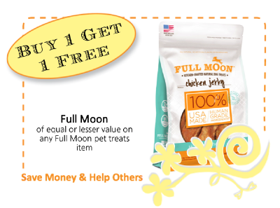 Full Moon Pet Treats CommonKindness coupon
