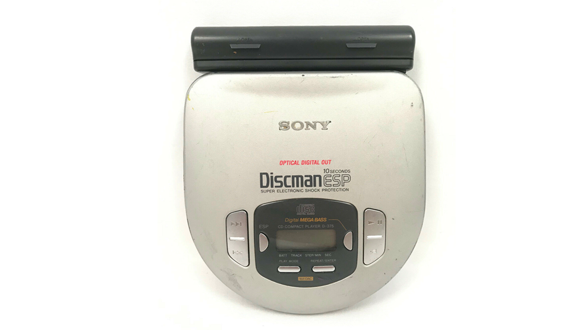 Sony portable CD player optical out battery pack