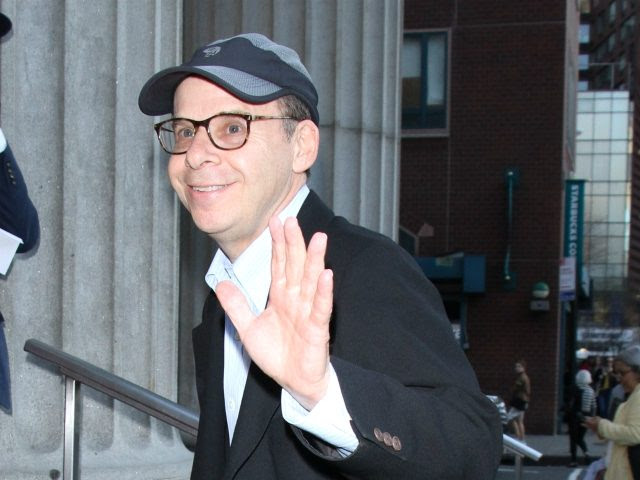 NEW YORK, NY - APRIL 12: Rick Moranis arriving to the opening night of Neil Patrick Harris presents In & Of Itself Identity Is An Illusion at the Daryl Roth Theatre in New York City on April 12, 2017. Credit: RW/MediaPunch/IPX