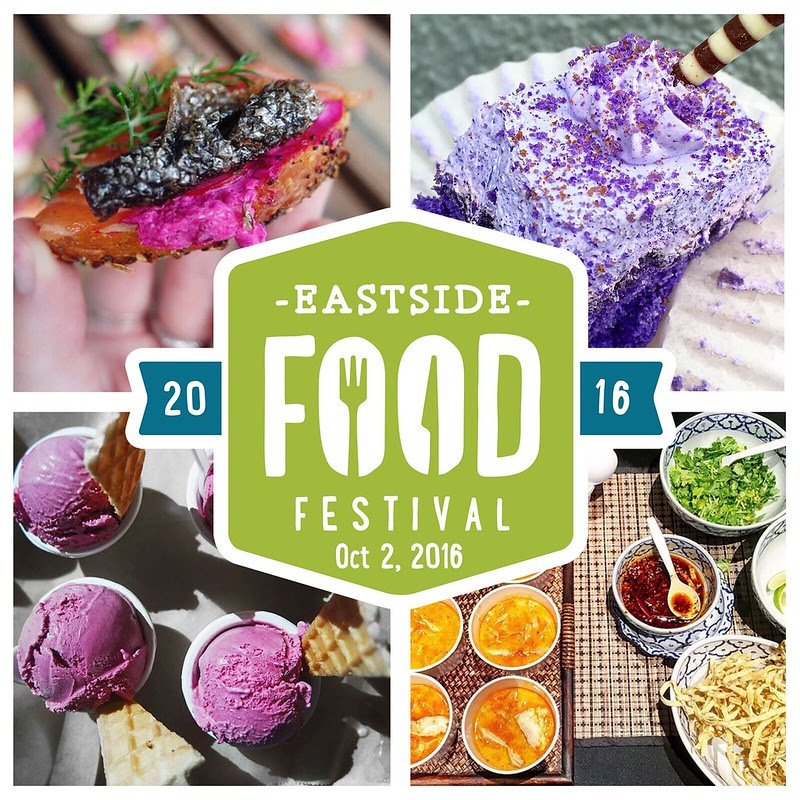 EastSide Food Festival photos and logo