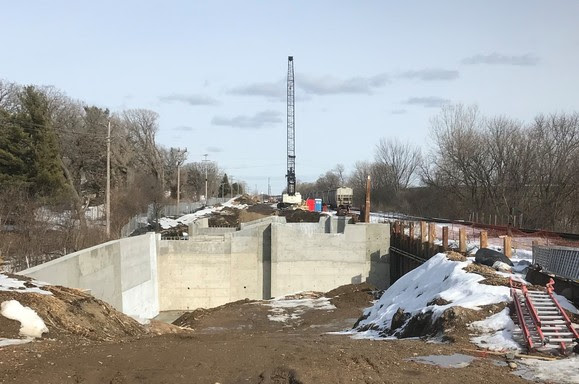 Weekly Construction Photo: Minnehaha Creek Bridge in St. Louis Park