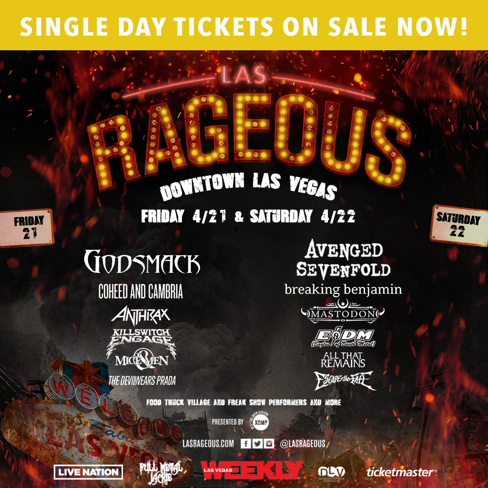 Las Rageous 1000x1000 SINGLE DAY TICKETS ON SALE NOW-V2