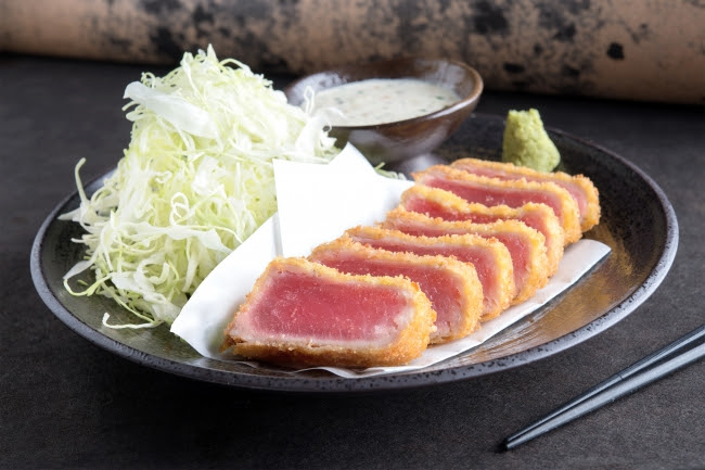 鮪カツ和風タルタル膳:1,280円(+税)