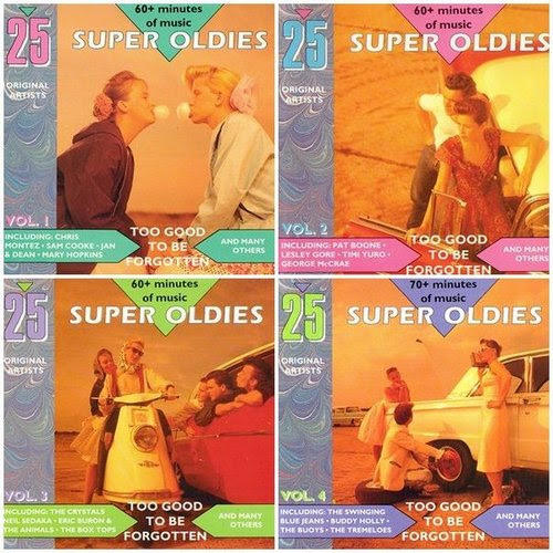 100 Super Oldies: Too Good To Be Forgotten (4CD) (1990)