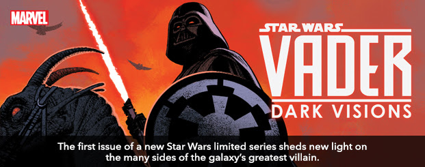Star Wars: Vader - Dark Visions (2019) #1 The first issue of a new *Star Wars* limited series sheds new light on the many sides of the galaxy's greatest villain.