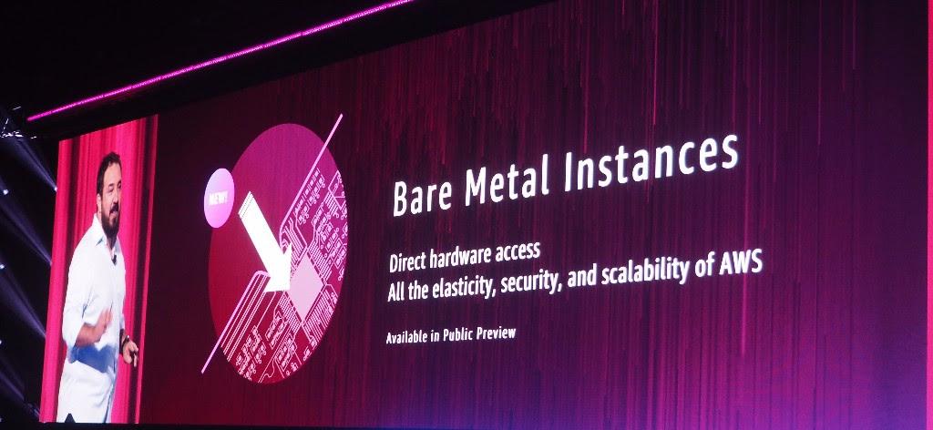 เหล็กล้วนไม่มีอะไรปน AWS เปิดบริการ EC2 Bare Metal อย่างเป็นทางการ