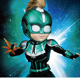 Captain Marvel Egg Attack Action EAA-075SP Captain Marvel PX Previews Exclusive