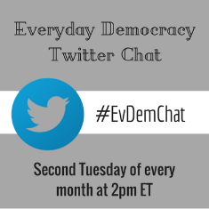 Everyday Democracy Twitter chat