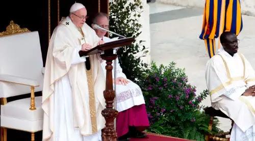 El Papa en Divina Misericordia: ¿Pecas mucho? Pide mucha misericordia y veremos quién gana