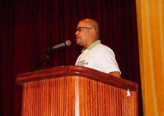 Guilherme Carvalho, integrante da comissão de articulação do Fórum