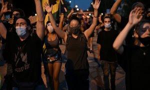 Imagen de las protestas en EEUU por Jacob Blake. REUTERS.
