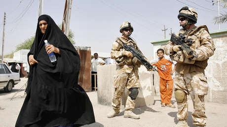 Altos mandos militares británicos habrían encubierto torturas de civiles y asesinato de niños por parte de sus tropas en Irak y Afganistán