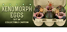 XENOMORPH EGGS IN COLLECTIBLE CARTON