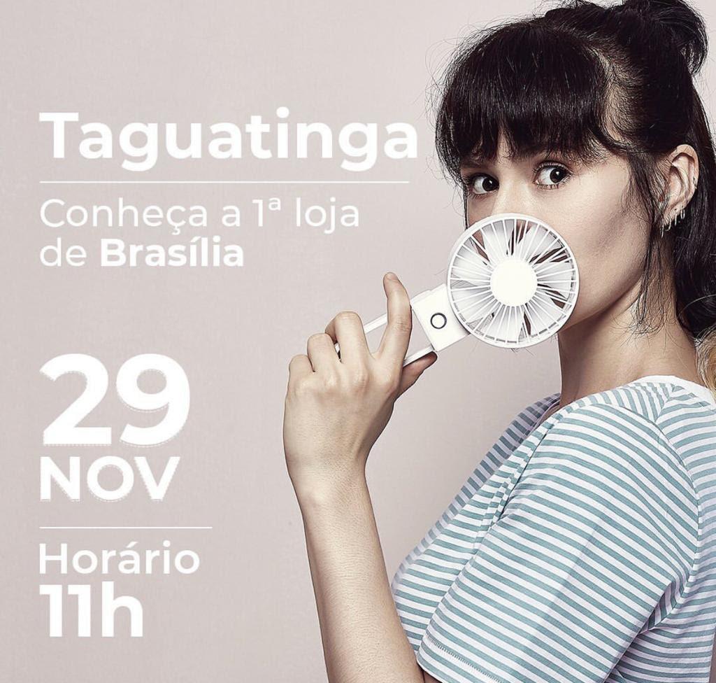 Taguatinga Shopping recebe primeira loja Miniso de Brasília