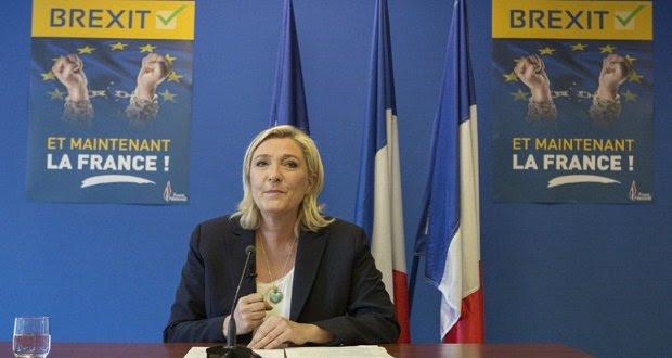 Marine Le Pen társakat keres az Európai Unió lebontásához