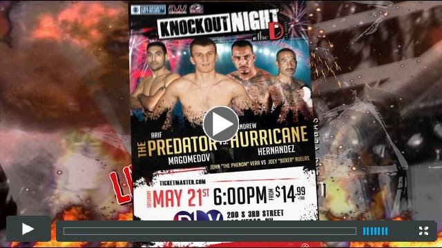 Knock Out Night @ the D - May 21 2016