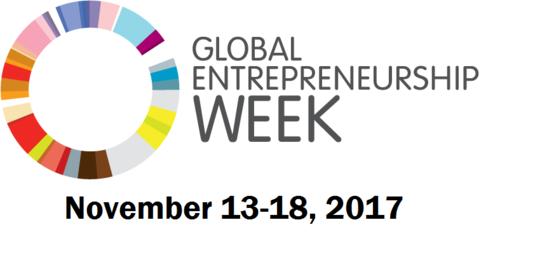 Global Entrepreneurship Week, November 13-18, 2017