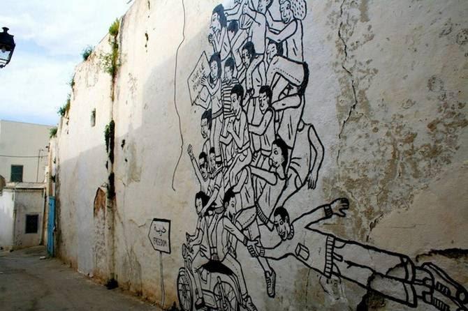 revolucion tunez calles arte circuito 04