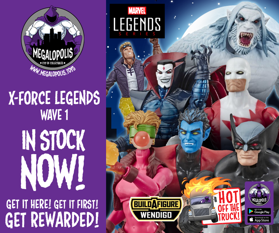 MEGALOPOLIS TOYS 8/5/19 – TONS of New In-Stock! Plus: Their NEW
