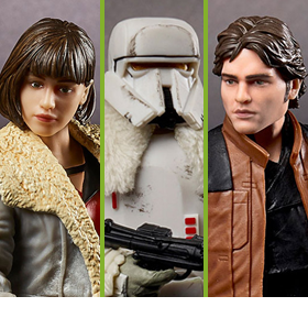 STAR WARS: THE BLACK SERIES SOLO WAVE 27 FIGURES