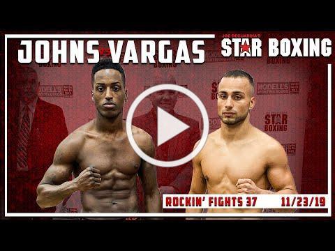 Rockin' Fights 37: Dashaun Johns vs Alex Vargas
