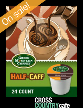 Green Mountain Half Caff Keurig K-cup coffee
