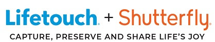 Lifetouch + Shutterfly logo