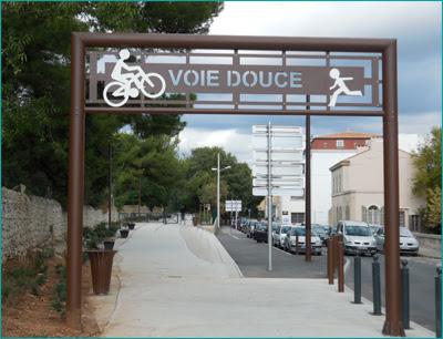Collectif Vélos en Ville La Ciotat inauguration Voie Douce