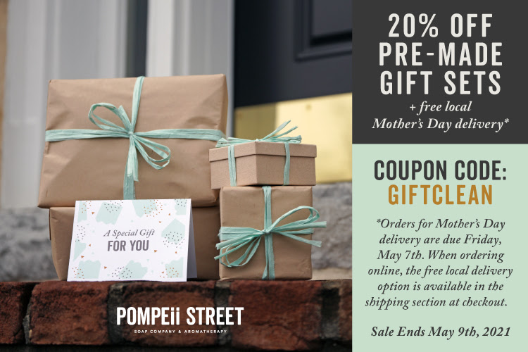 20% OFF Gift Sets + Free Local Mother's Day Delivery