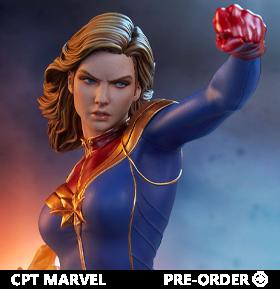 Marvel Avengers Assemble Statue Collection Captain Marvel Statue