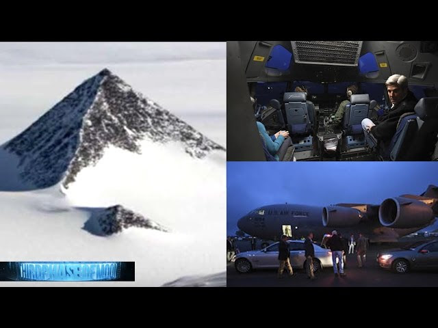 HOLD ON!! Secretary Of State Visits Alien UFO BASE Antarctic Pyramid!? Secret Agenda! 11/11/2016  Sddefault