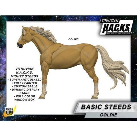 Image of Vitruvian H.A.C.K.S. Mighty Steeds - Goldie
