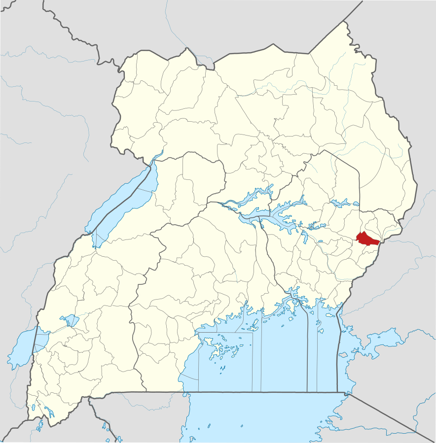 Sironko District, Uganda. (© OpenStreetMap contributors, Jarry1250, NordNordWest Wikipedia)