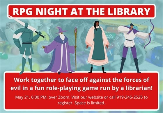 RPG Night at the Library