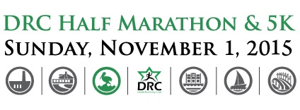 DRC Half Marathon & 5K - Sunday, November 1, 2015